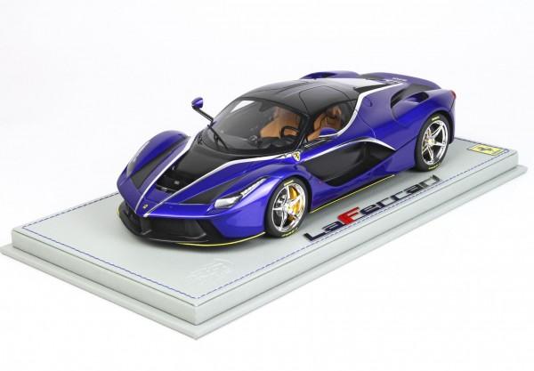 BBR Ferrari LaFerrari Blu Elettrico Metallizzato 1/18 Limited Edition 32