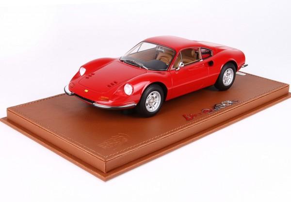 BBR Ferrari Dino 246 GT TIPO 607L 1969 Rosso Corsa 322 Limited Edition 246