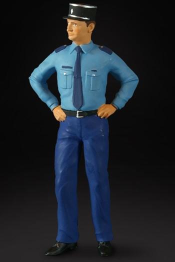 figurenmanufaktur Figur 1:18 Flic, franz. Polizist