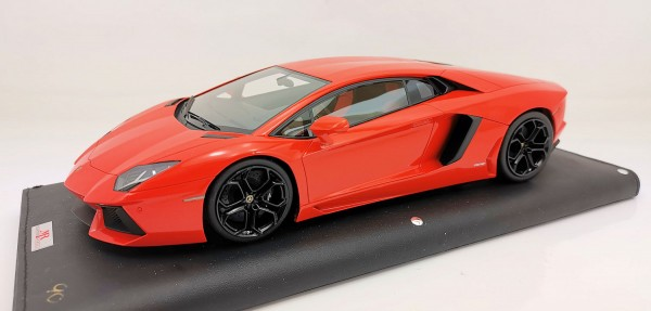 MR Models Lamborghini Aventador LP 700-4 ORANGE ARGOS