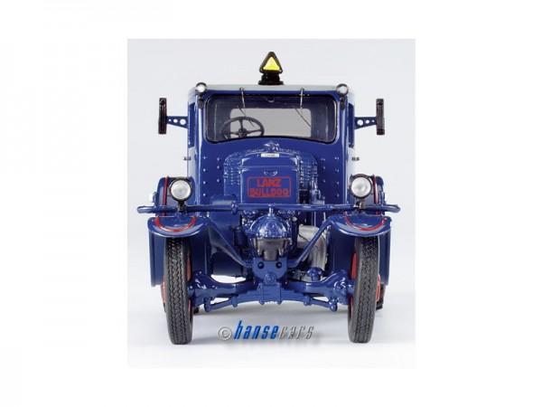 Schuco Lanz Eilbulldog mit geschlossener Kabine blau