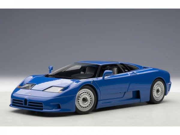 Auto Art Bugatti EB110 GT 1991 blau 1:18
