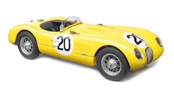 CMC Jaguar C-Type, 1953 Ecurie Francorchamps, 24H Frankreich #20 Laurent/de Tornaco