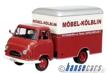 Schuco Hanomag Kurier Möbel Kölblin Kastenwagen Limited Edition 1000