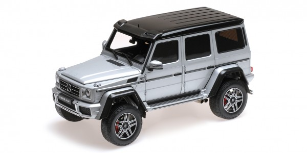 Almost Real MERCEDES-BENZ G500 4X4 silber 1:18