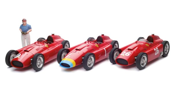 "CMC Lucky Set 2018 ""Fangio"" CMC Ferrari D50 long nose+CMC Ferrari D50 short nose"