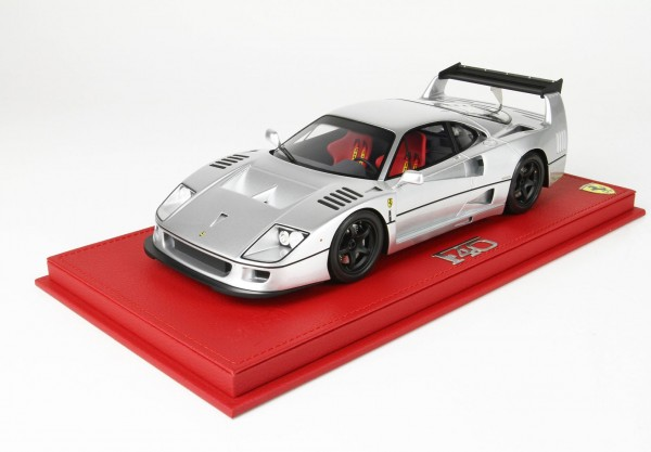 BBR Ferrari F40 By Michelotto silber Limited Edition 24 1/18