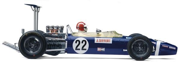 Exoto Lotus Ford Type 49B 1968 Winner, 1968 Grand Prix of Britain Jo Siffert