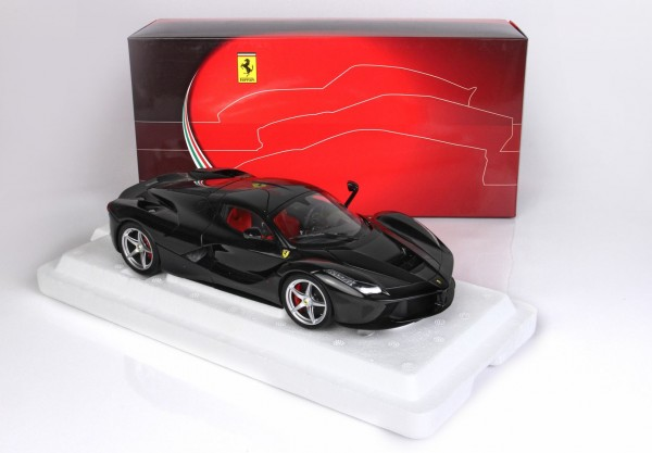 BBR Ferrari LaFerrari DIE CAST Met Black Daytona schwarz 1/18