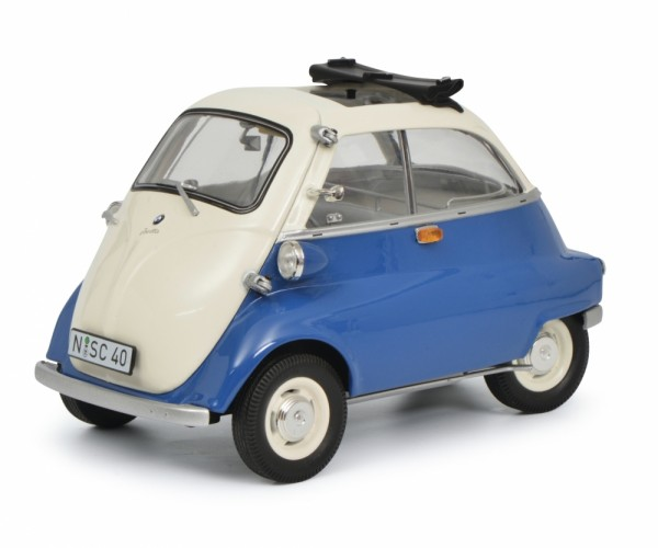 Schuco BMW Isetta Export blau 1:18 Limited Edition 1000