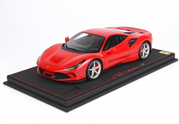 BBR Ferrari F8 Tributo Rosso Corsa 322 Red Brakes 1/18 Limited Edition 48 Stück