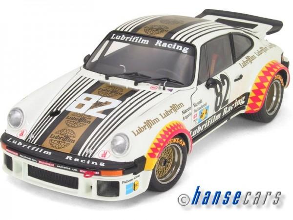 Exoto Porsche 934 RSR 1979 Le Mans GT Class Winner, Lubrifilm Racing Herbert Mueller, Angelo P