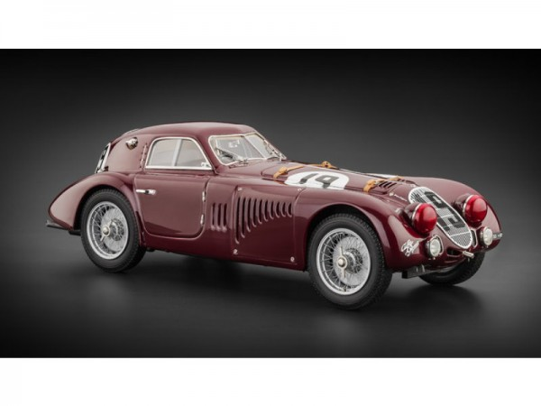 CMC Alfa–Romeo 8C 2900 B Speciale, #19 24H France, 1938 Limited Edition 3000 Stück 1:18
