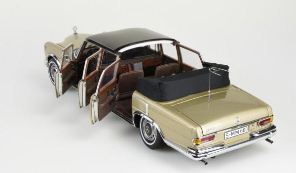 CMC Mercedes-Benz 600 Pullman (W100) Landaulet sandbeige/braun, limitierte Auflage 800