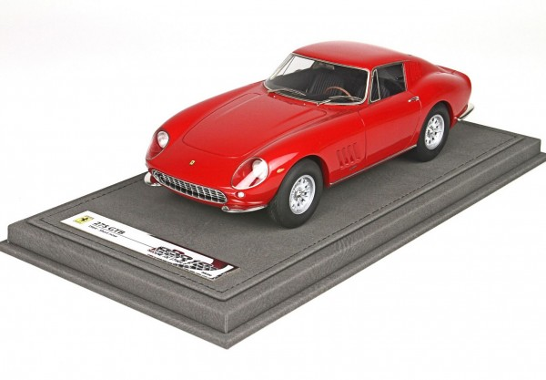 BBR Ferrari 275 GTB Short Nose 1964 rot Limited Edition 200 1/18