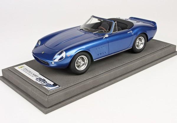 BBR Ferrari 275 GTS/4 NART S/N 10453 Steve McQueen 1967 1/18 Limited Edition 200