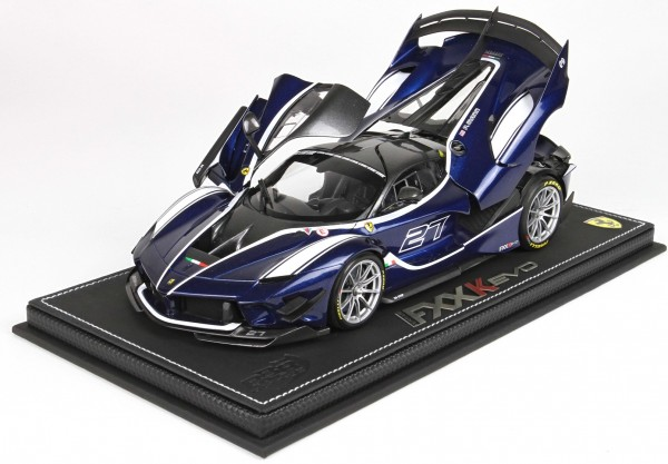 BBR High End Ferrari FXX-K EVO Blue Tour De France 1:18 Limited Edition 159