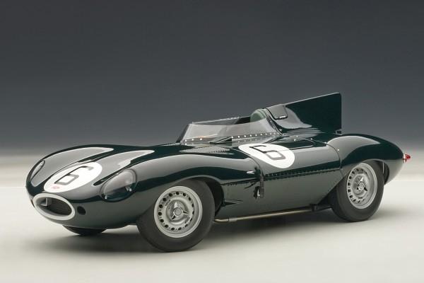 Auto Art JAGUAR D-TYPE LM 24 HRS 1955 Sieger grün