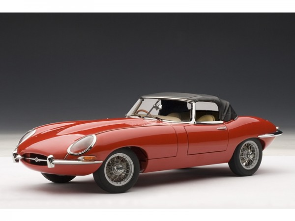 Auto Art Jaguar E-Type Roadster Series 1 3.8 rot