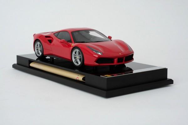 Amalgam Ferrari 488 GTB rot 2015 1:18