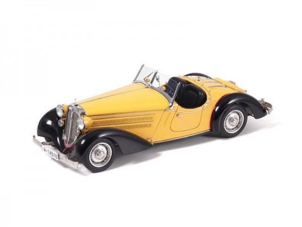 CMC Audi 225 Front Roadster 1935 schwarz / gelb