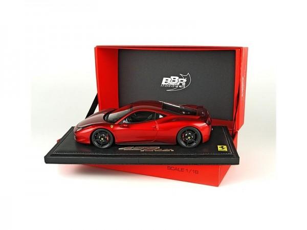 BBR Ferrari 458 Italia – F2007 red metallicLimited 50 pcs