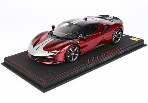 BBR Ferrari SF90 Stradale Pack Fiorano Rosso Fuoco Limited Edition 99 1/18