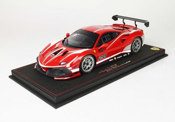 BBR Ferrari 488 Challenge 2020 Limited Edition 200 1/18