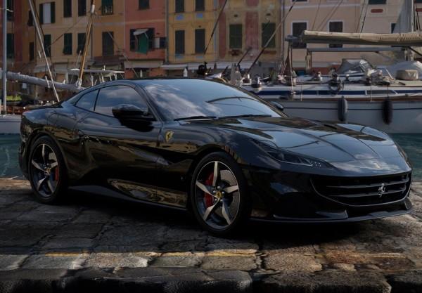 BBR Ferrari Portofino M Spider geschlossen New Black Daytona Limited Edition 1/18