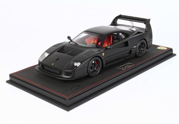 BBR Ferrari F40 LM By Michelotto black matt Limited Edition 28 1/18