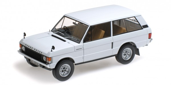 Almost Real LAND ROVER RANGE ROVER 1970 Tuscan weiss 1:18