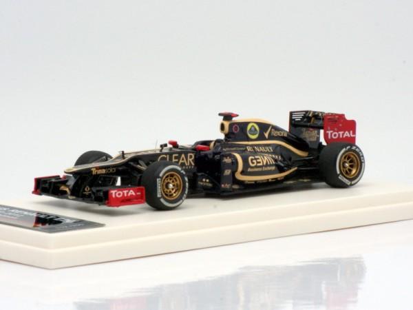 Tameo Lotus Renault E20 Räikkonen GP Bahrain 2012 1/43