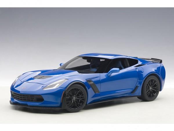 AUTOart Chevrolet Corvette C7 Z06 2014 Blue Tintcoat 1:18