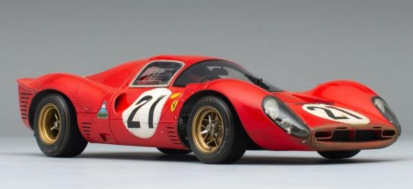 Amalgam Ferrari 330 P4 - 1967 LeMans - RACE WEATHERED 1:18 AUSVERKAUFT