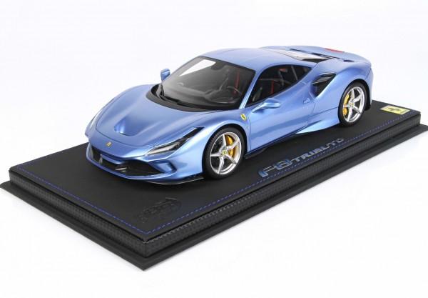 BBR Ferrari F8 Tributo Azzurro California Limited Edition 24 Stück