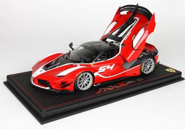 BBR Ferrari FXXK-EVO DIE CAST ROSSO CORSA 322 #54 Limited Edition 42 1/18
