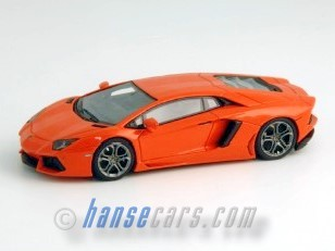 Looksmart Lamborghini Aventador LP 700-4 orange 1:43