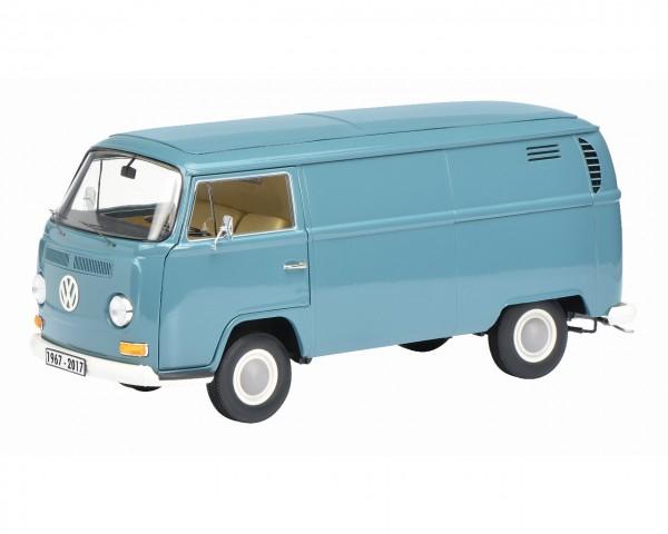 Schuco VW T2a Kastenwagen blau 1:18 Edition 50 Jahre VW T2 1967-2017 Limited Edition 500