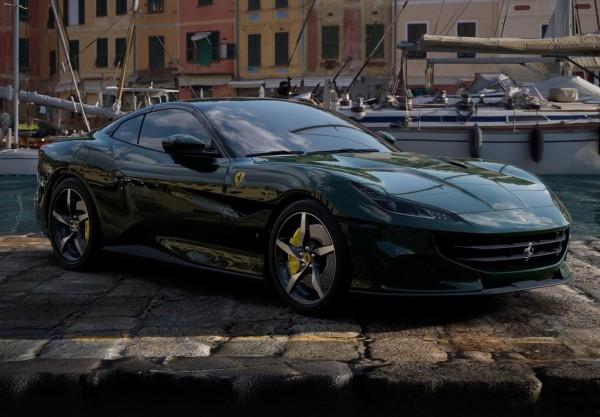 BBR Ferrari Portofino M Spider offen Verde British Limited Edition 1/18