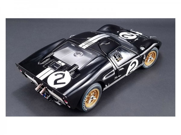 GMP Ford GT40 MKII #2 Bruce McLaren & Chris Amon 24H Le Mans winner 1966 1:12 Limited 350
