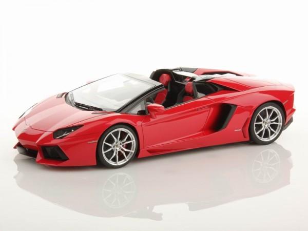 MR Models Lamborghini Aventador LP700-4 Roadster ROSSO MARS