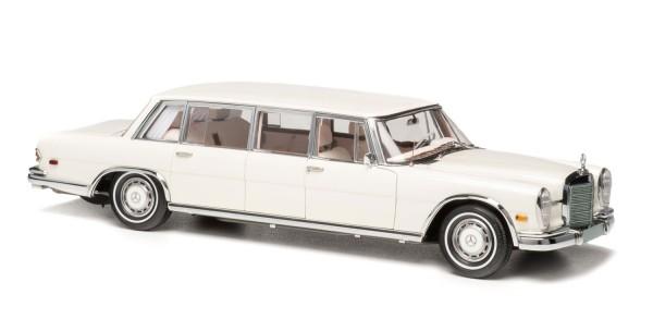 """CMC Mercedes-Benz 600 Pullman (W100) Limousine """"Weißer Schwan"""", limitierte Auflage 800"""