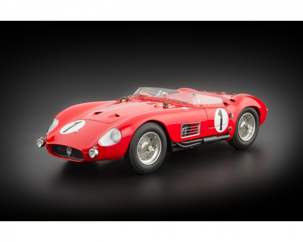 CMC Maserati 300 S #1 24H France, 1958 Limited Edition 3000 Stück 1:18