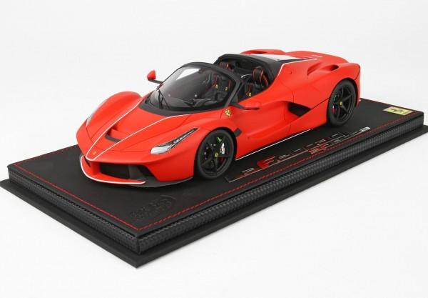 BBR Ferrari LaFerrari Aperta F1 red Limited Edition 28 1/18