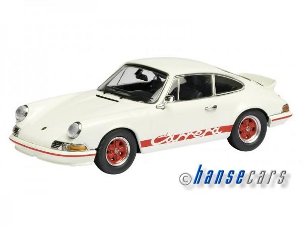 Schuco Porsche 911 RS 2.7 weiss Limited Edition 1.000