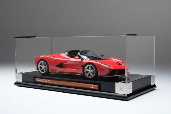 Amalgam Ferrari LaFerrari Aperta rot 2013 1:18