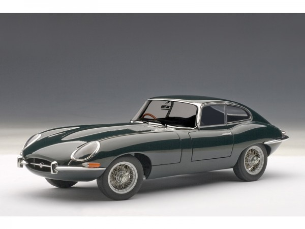Auto Art Jaguar E-Type Coupe Series 1 3.8 grün