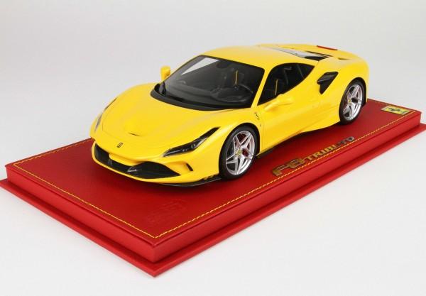 BBR Ferrari F8 Tributo Giallo Modena Limited Edition 28 1/18