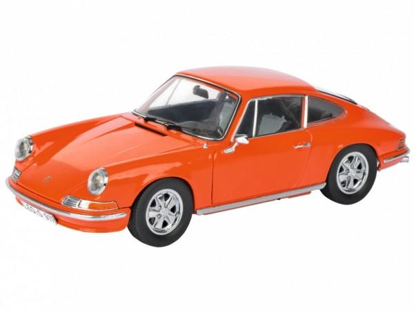 Schuco Porsche 911 S 2.4 Coupe Baujahr 1973 orange 1:18