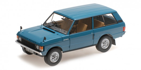 Almost Real LAND ROVER RANGE ROVER 1970 Tuscan blau 1:18